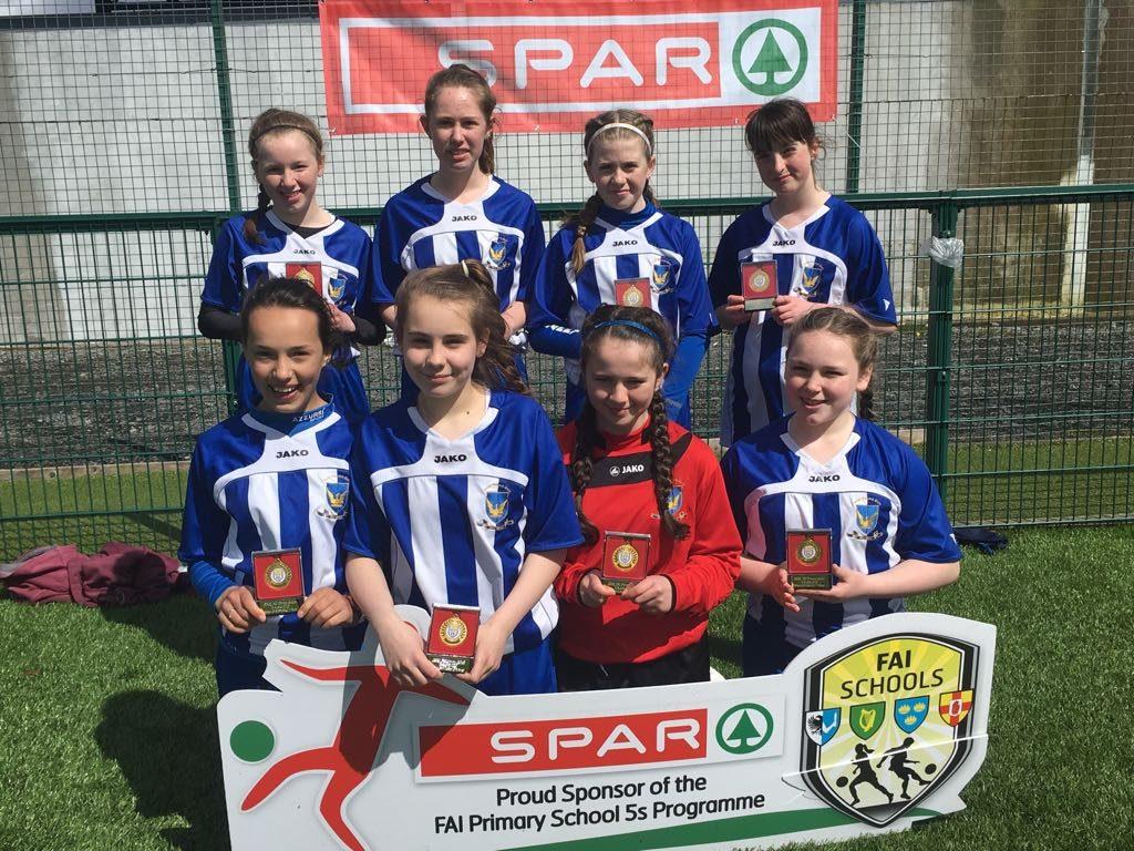 5th Class Girls Soccer Team