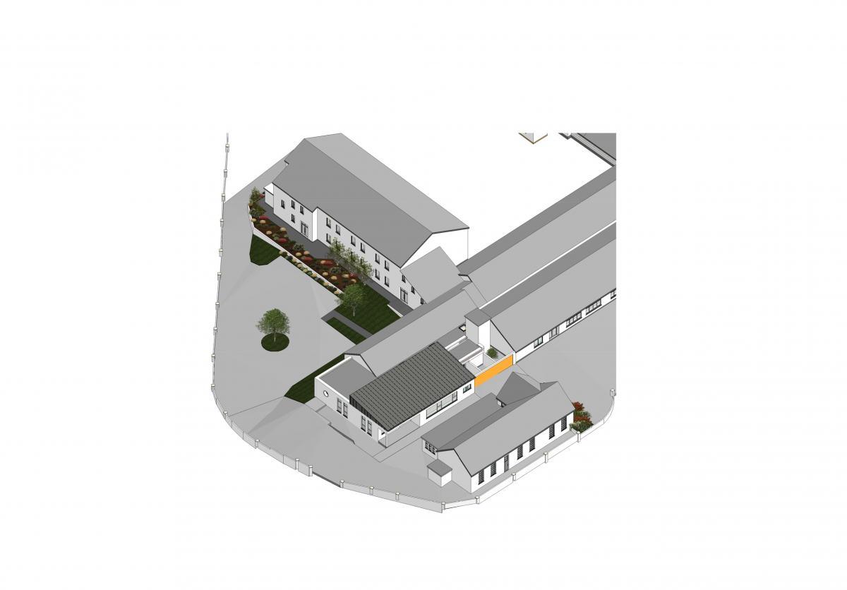 Breaffy School- Proposed School