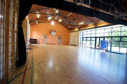 Our Halla Mór for sport , dance & concerts.