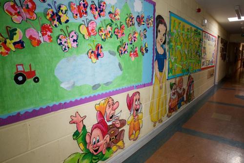 Snow White & Seven  Dwardfs Mural