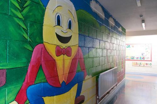 Inside our school /Taobh istigh in ár scoil