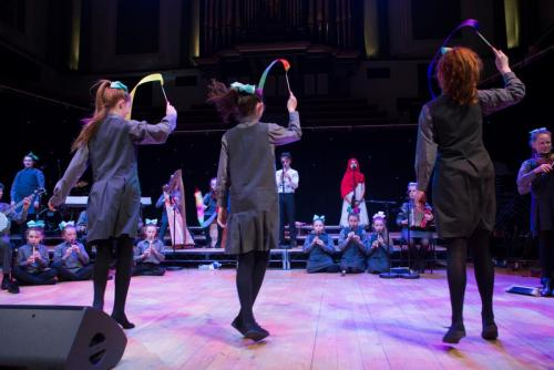 Dance section of Concert Hall Performance