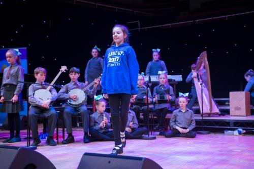 Solo Dance In National Concert Hall Rehearsal